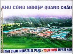 Danh sách công ty KCN Quang Châu